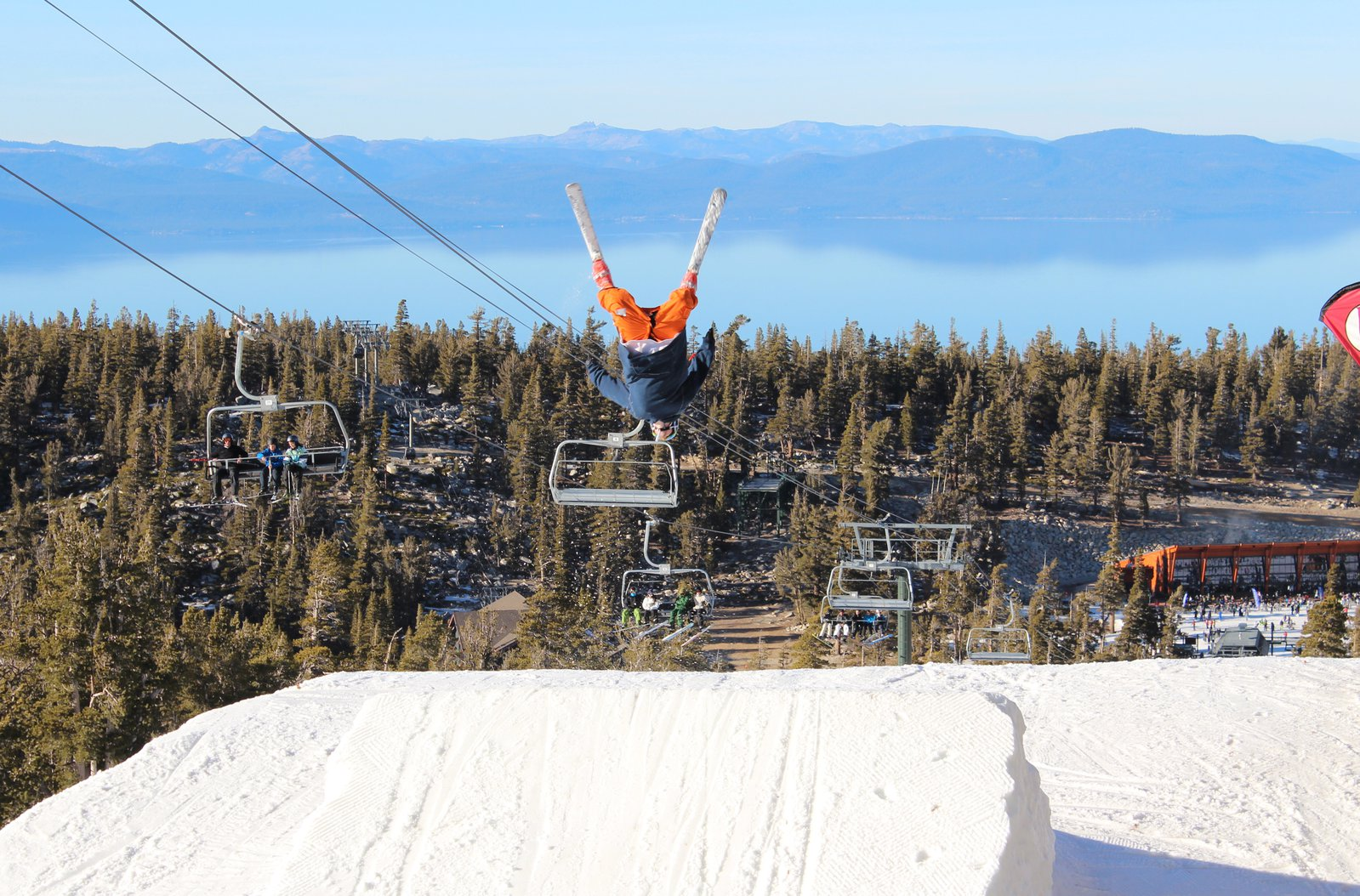 Backflip in Tahoe