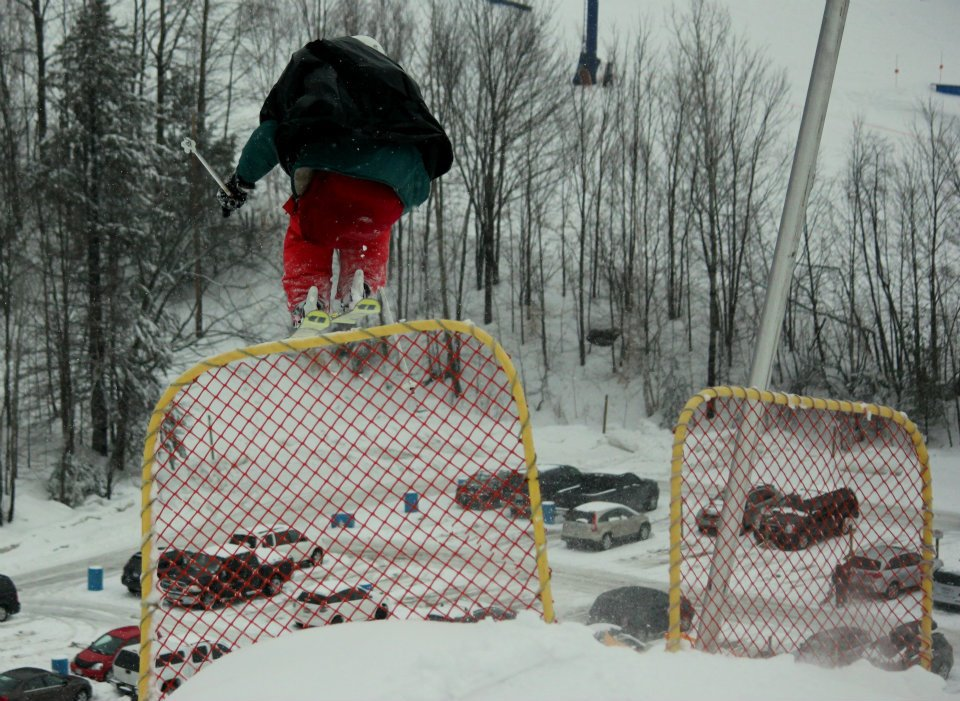 Snowfence Jump