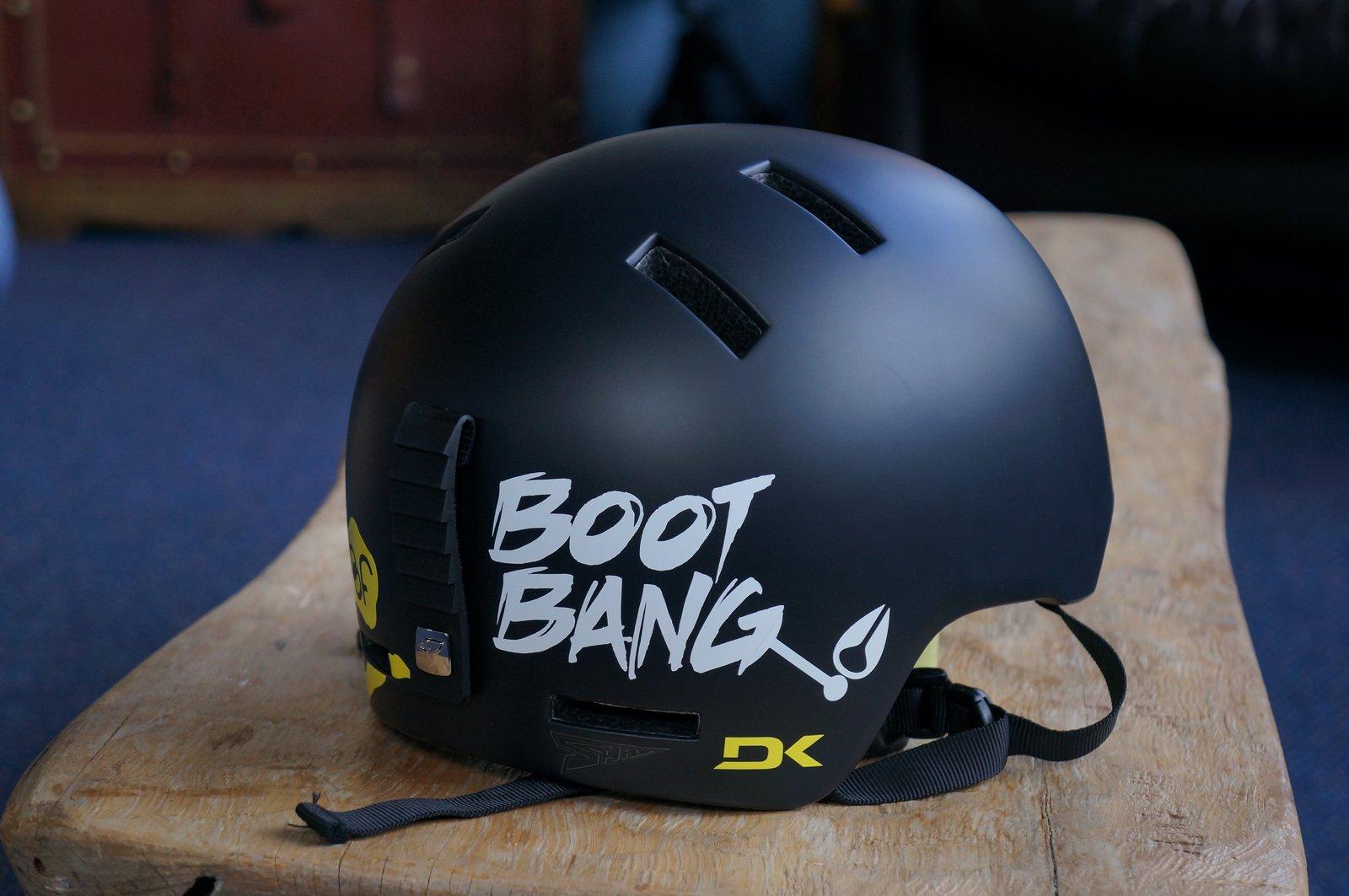 Helmet Sticker job 3