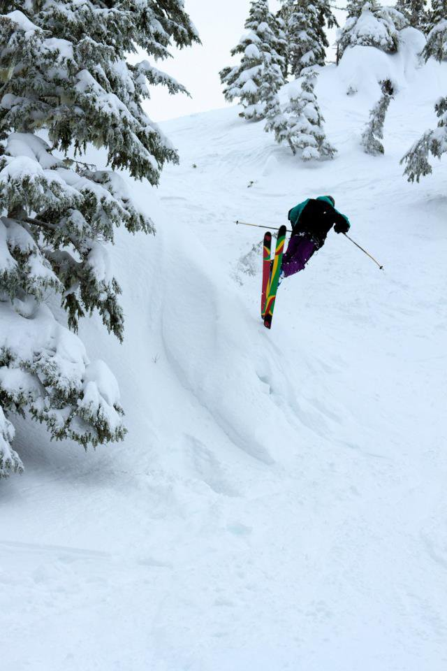 Pow Day Spins