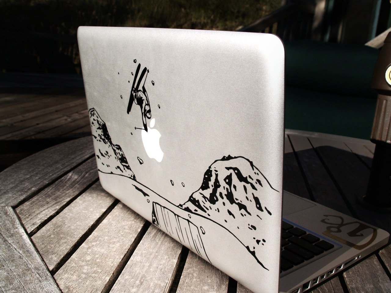 Custom Macbook Pro Die Cut