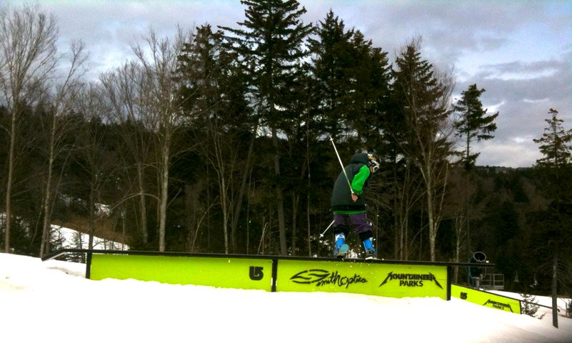 Snowshoe flatrail