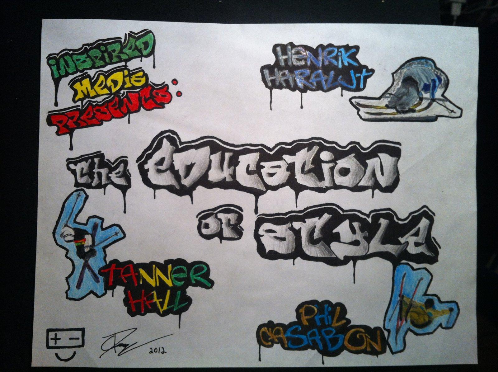 Education of Style Graffiti Contest: Cole P.