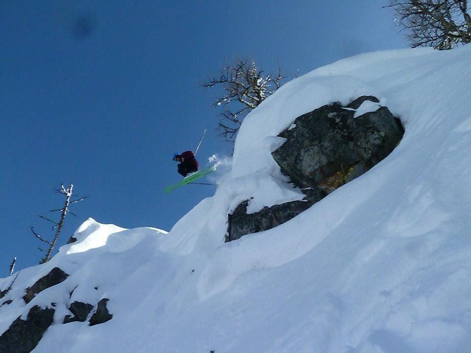 Cornice/cliff launch