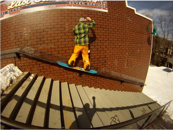 50/50 wall rail
