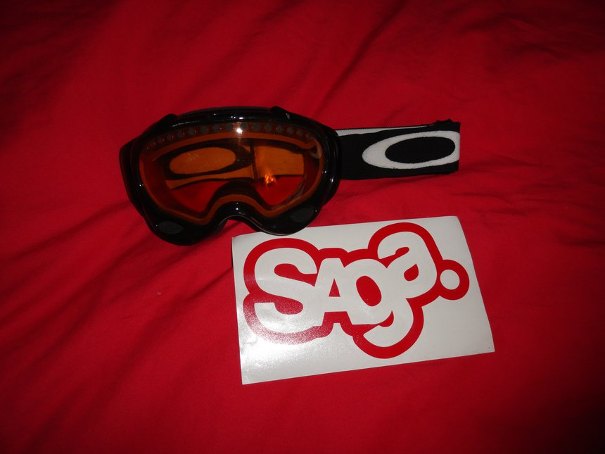 oakley A fram+saga sticker