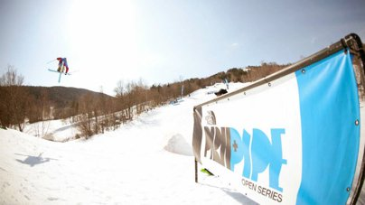 The North Face Park & Pipe Open Waterville Valley