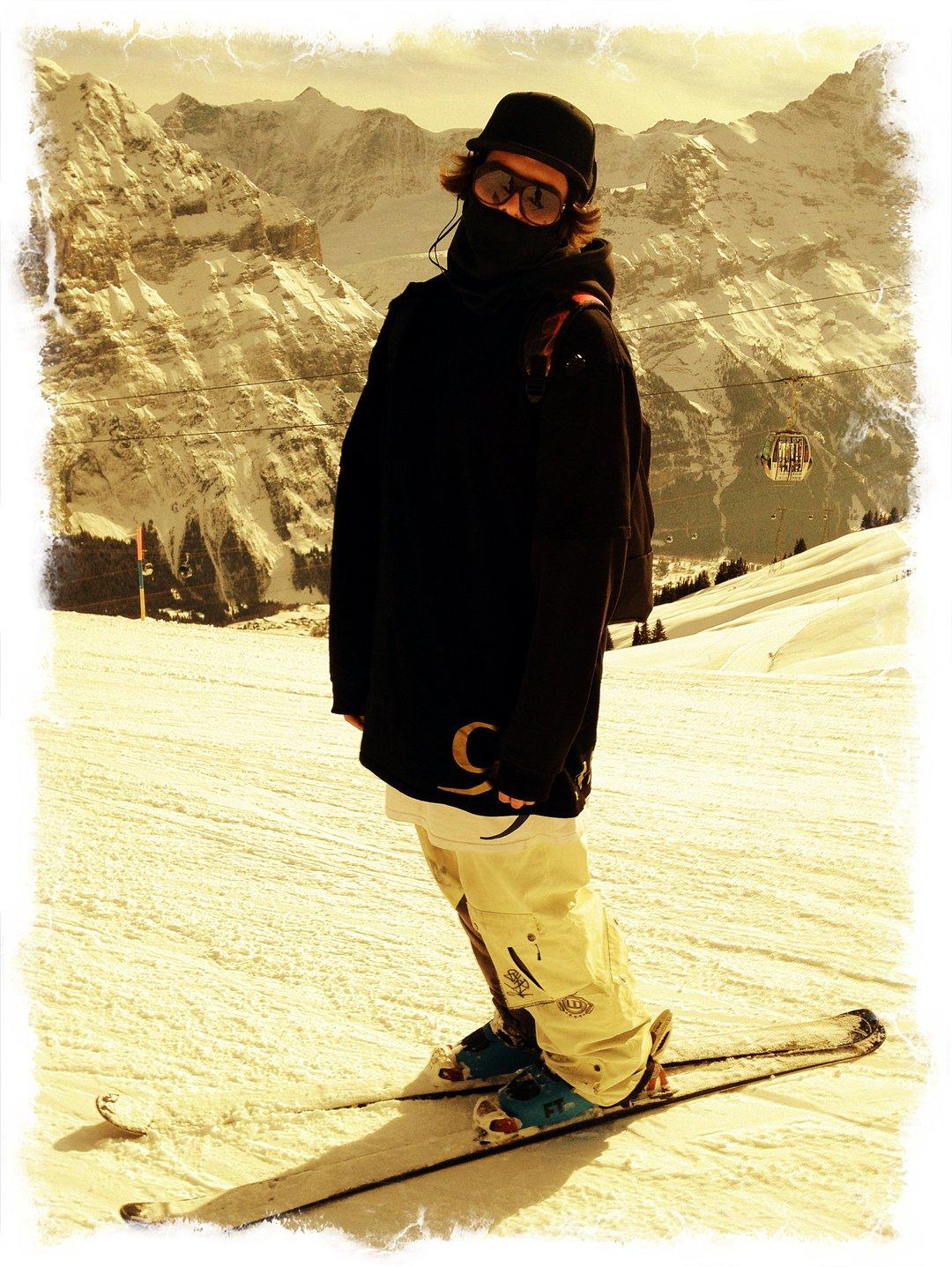 Back on skis