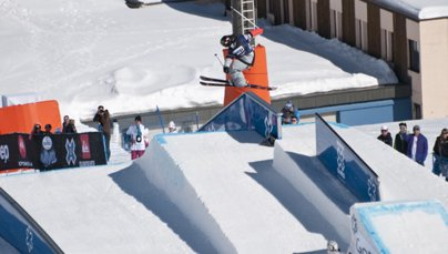European X Games Men's Ski Slopestyle Elimination
