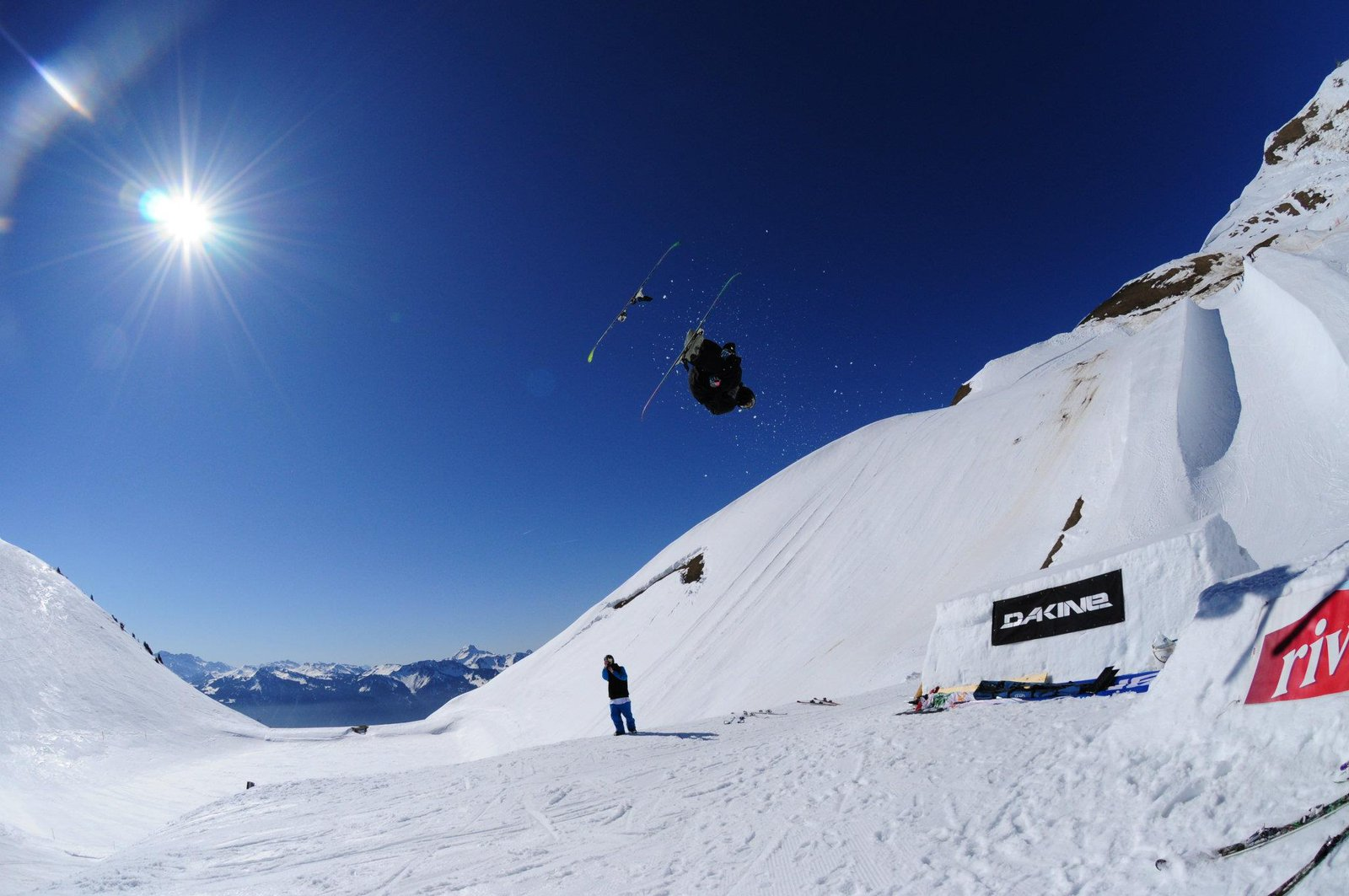 Lost ski in dub corck