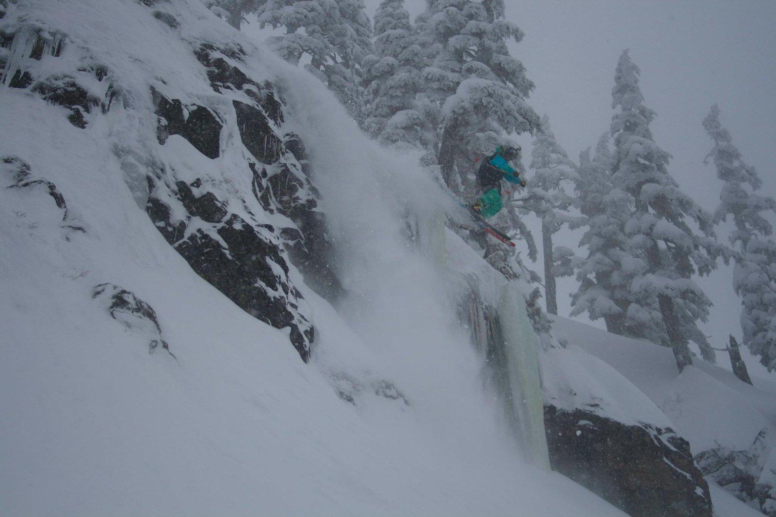 Alpental Cliff
