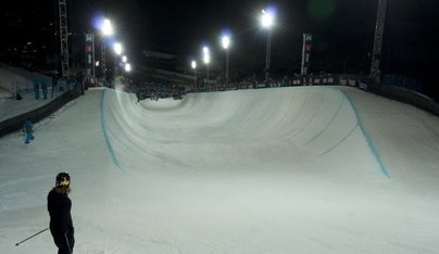 European X Games Men's Ski Superpipe Elimination