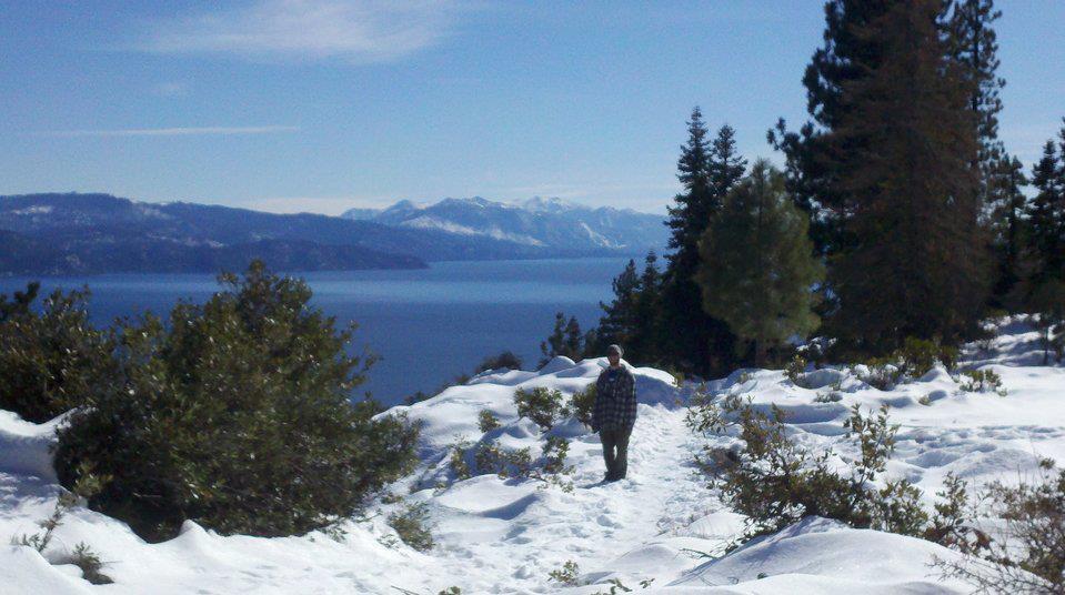 hiking around Tahoe