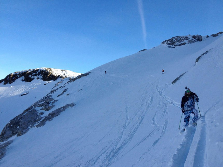 Magic tignes side coutry