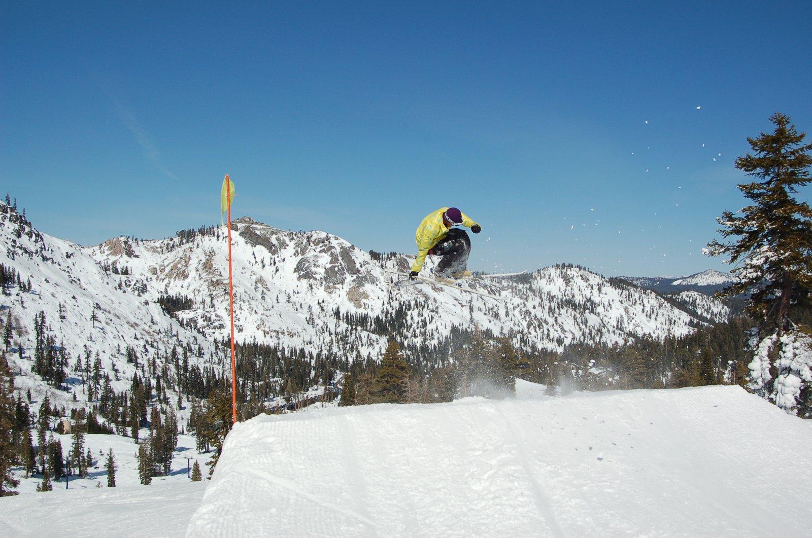 Spring jump line