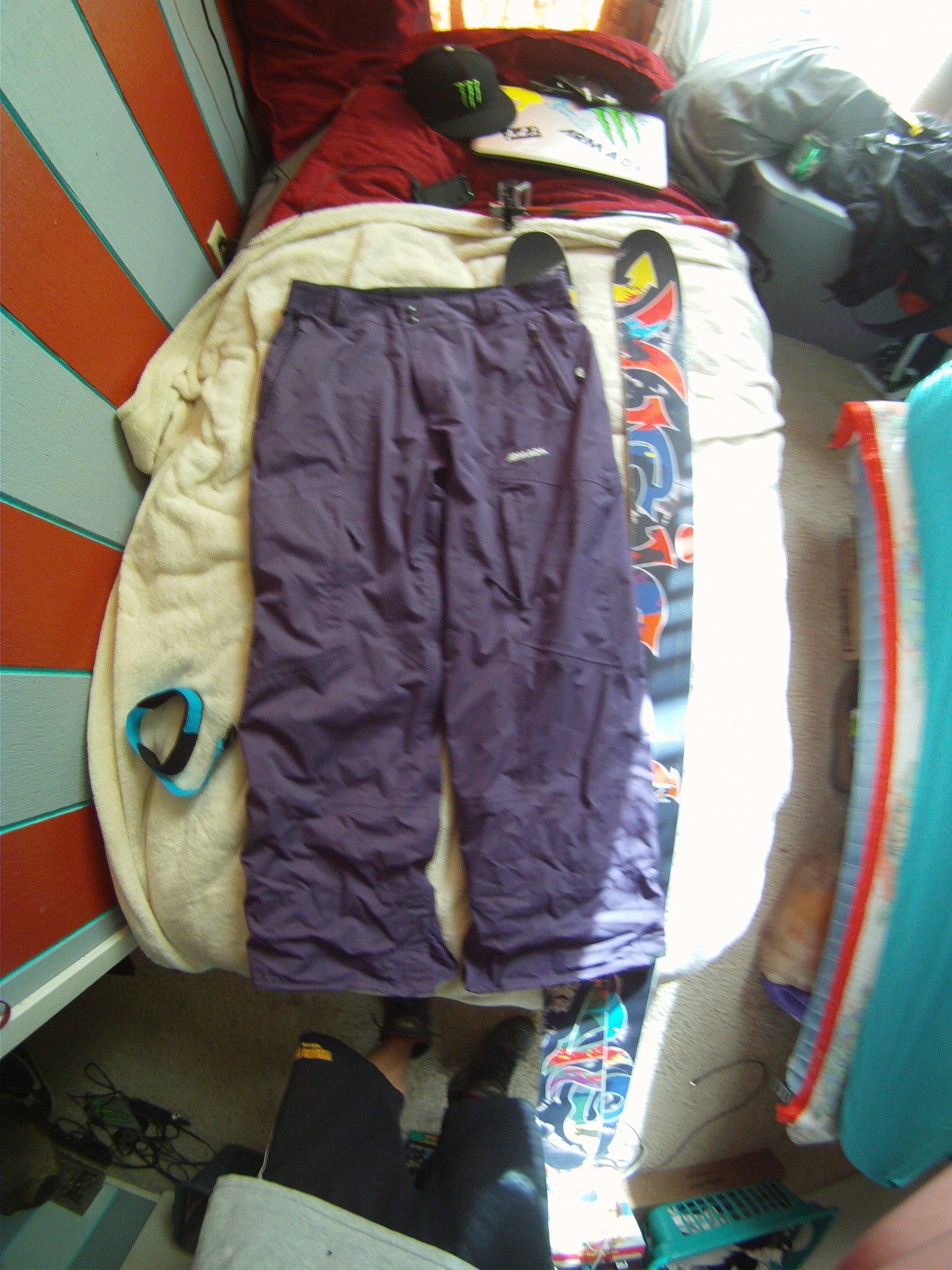 xl purple armada pants