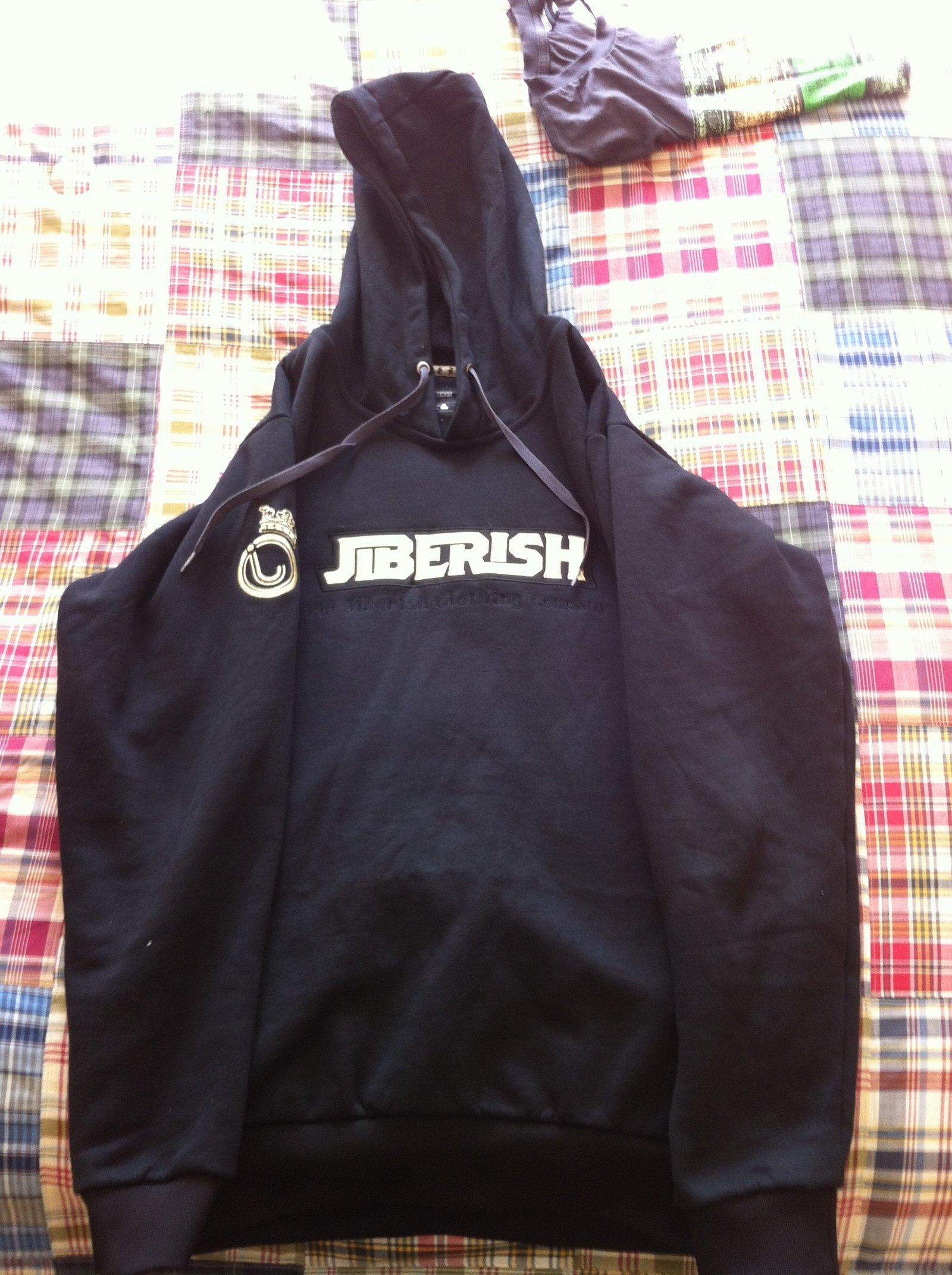 jiberish hoodie