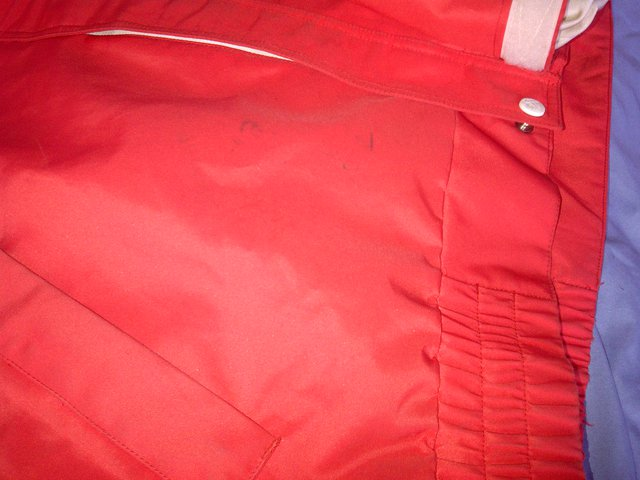 COC jacket stains