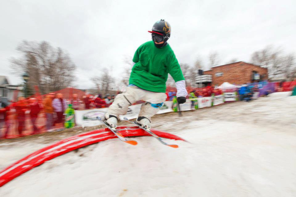 Downtown Rail Jam