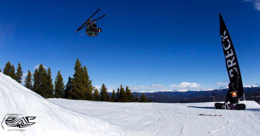 Blue Skies in Breck