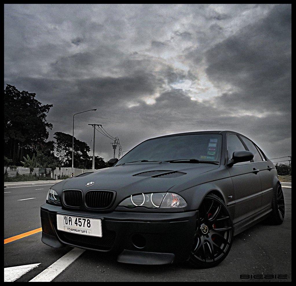 Matte Black BMW