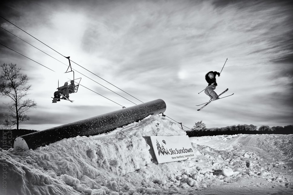 Andy Parry, Ski Sundown