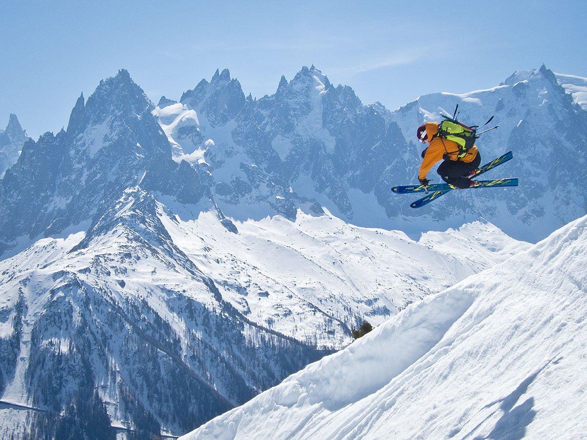 Boosting in Chamonix