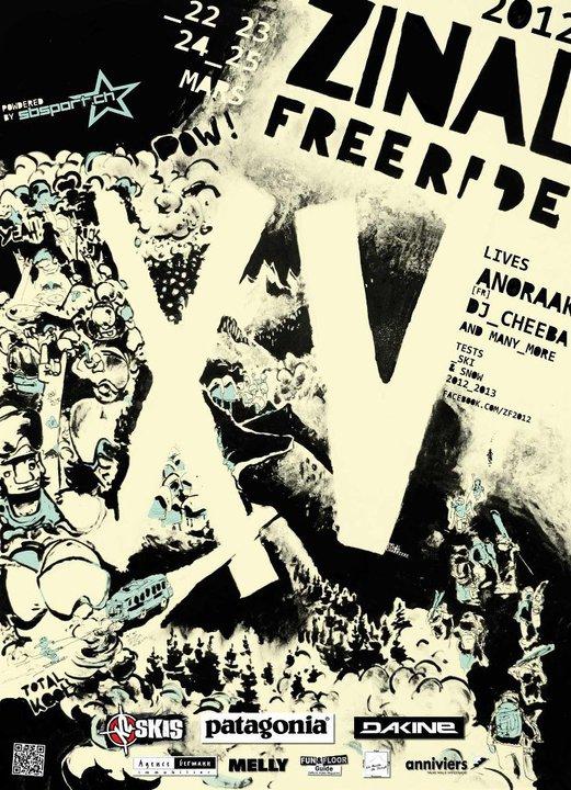 Zinal Freeride 2012