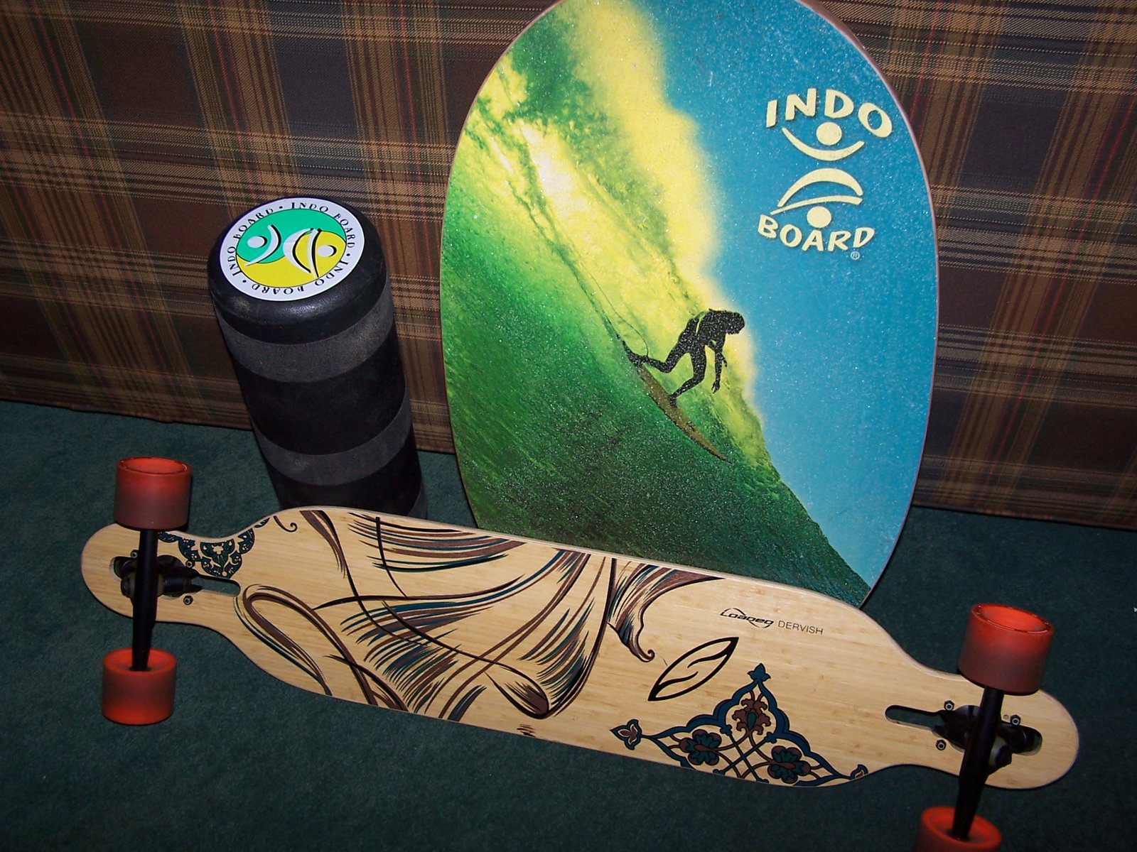loaded dervish and indo board