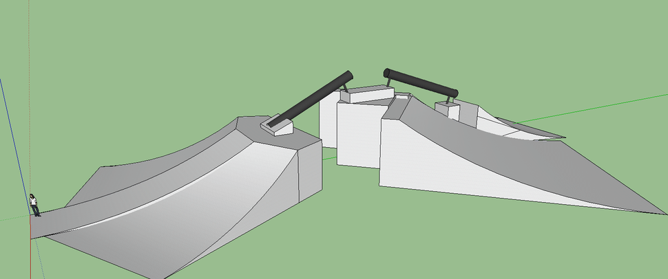Sketchup Rail feature