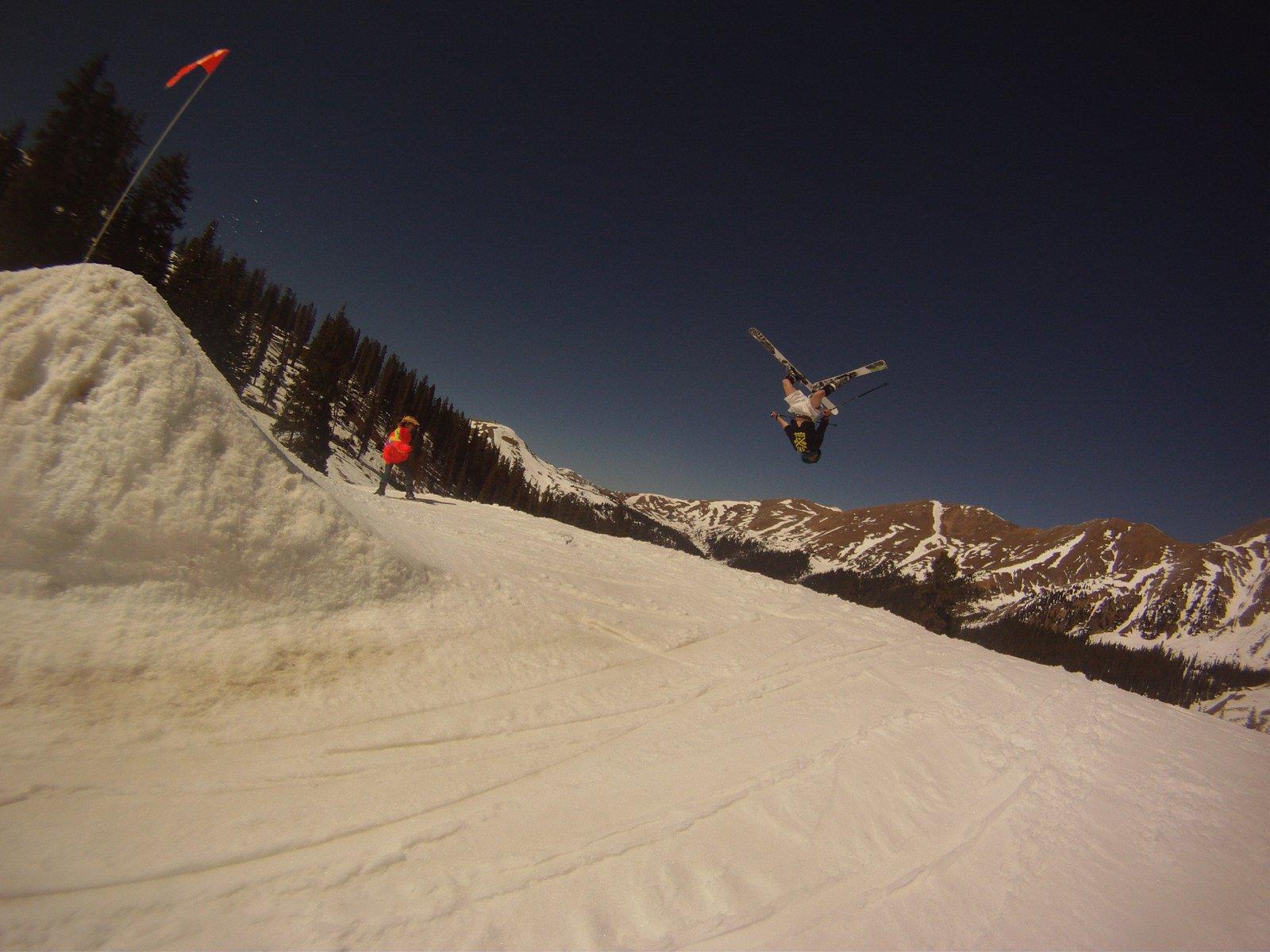 a-bay back flip
