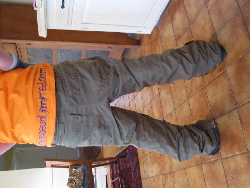 Back of Pants Sagged