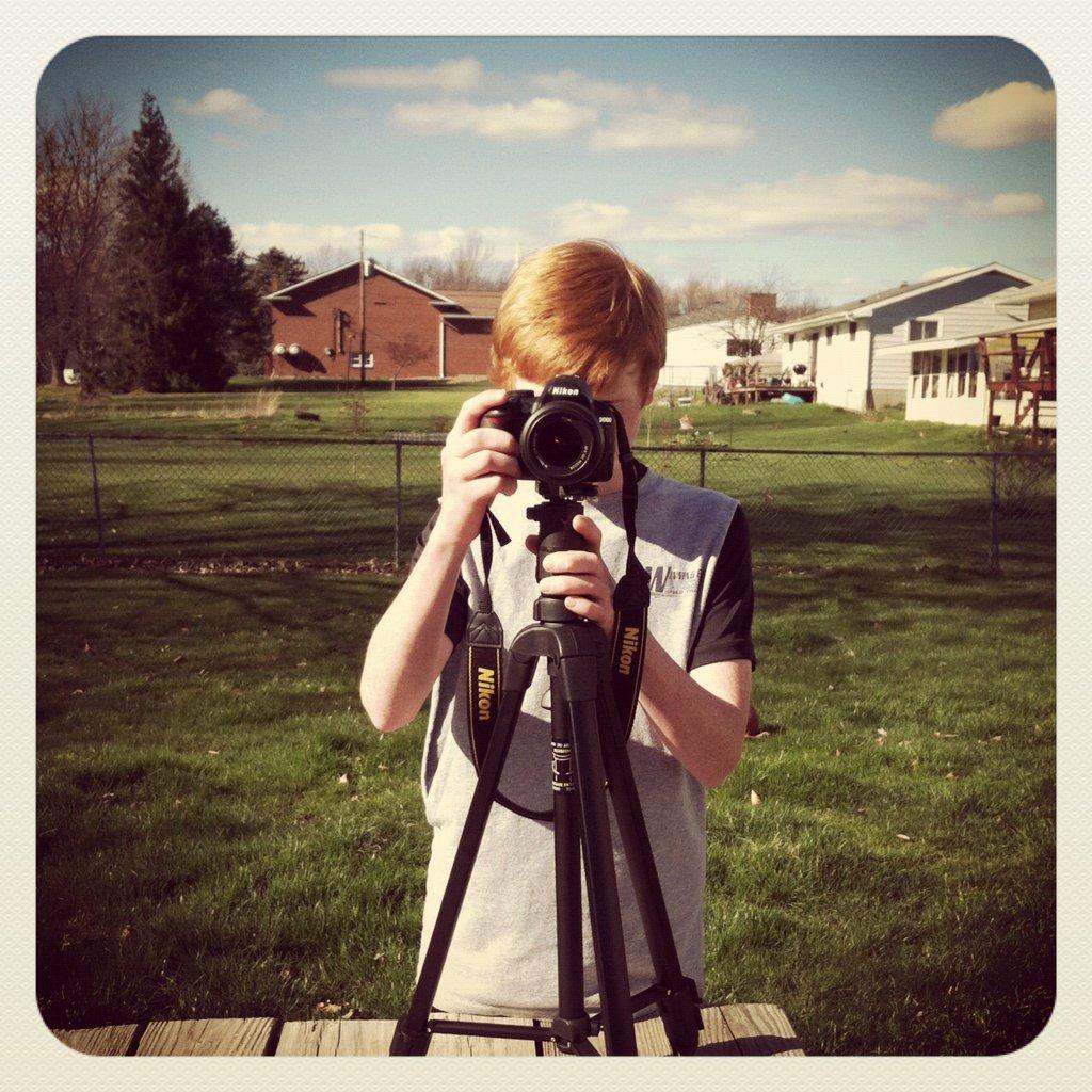 Me with a Nikon D3100