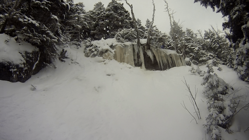 2nd Cliff on 3 cliffs