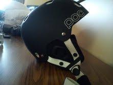 New Poc helment