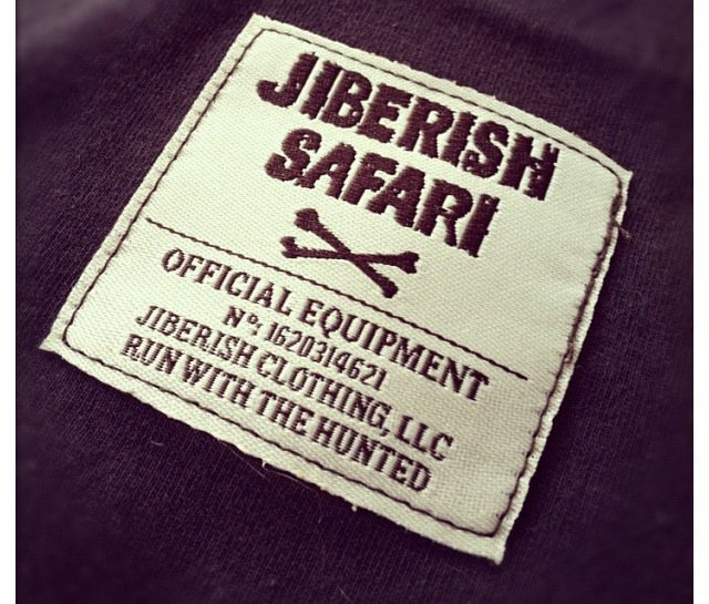 Jiberish Tag