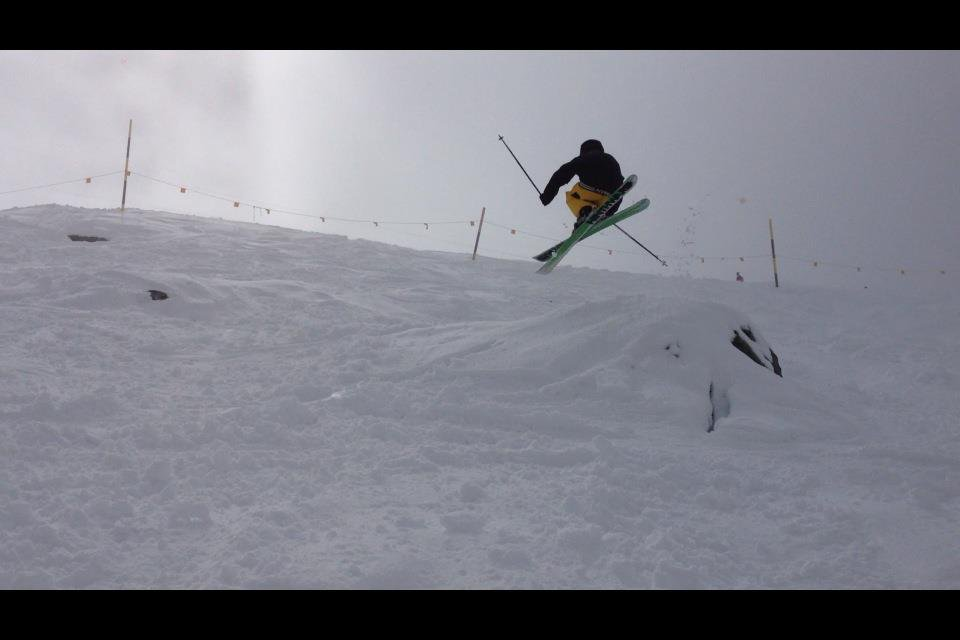 Last pow day of the season