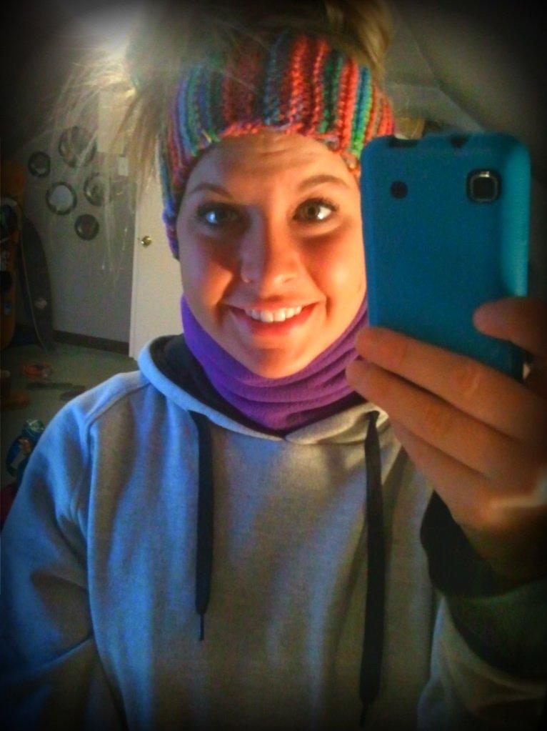 new headband: )