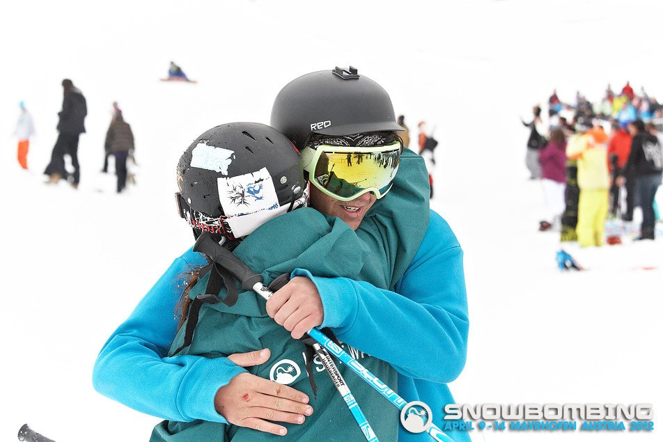 Jus' a bit of skier love