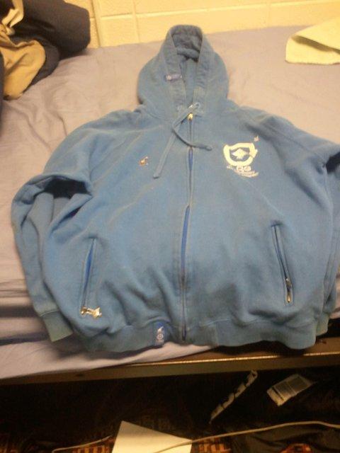blue lrg hoodie
