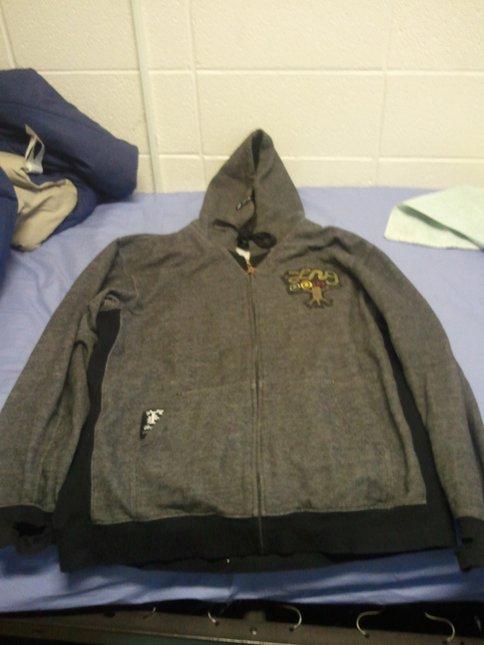 grey lrg hoodie