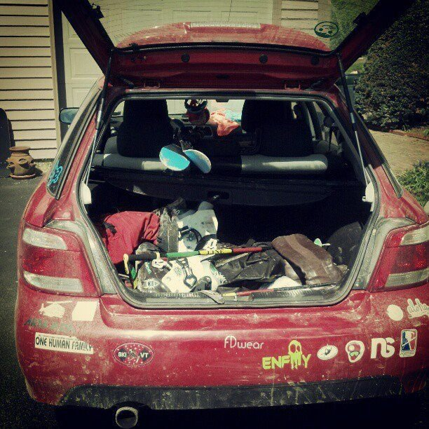My car, end of the season