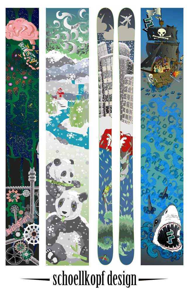 Ski Graphic compilation