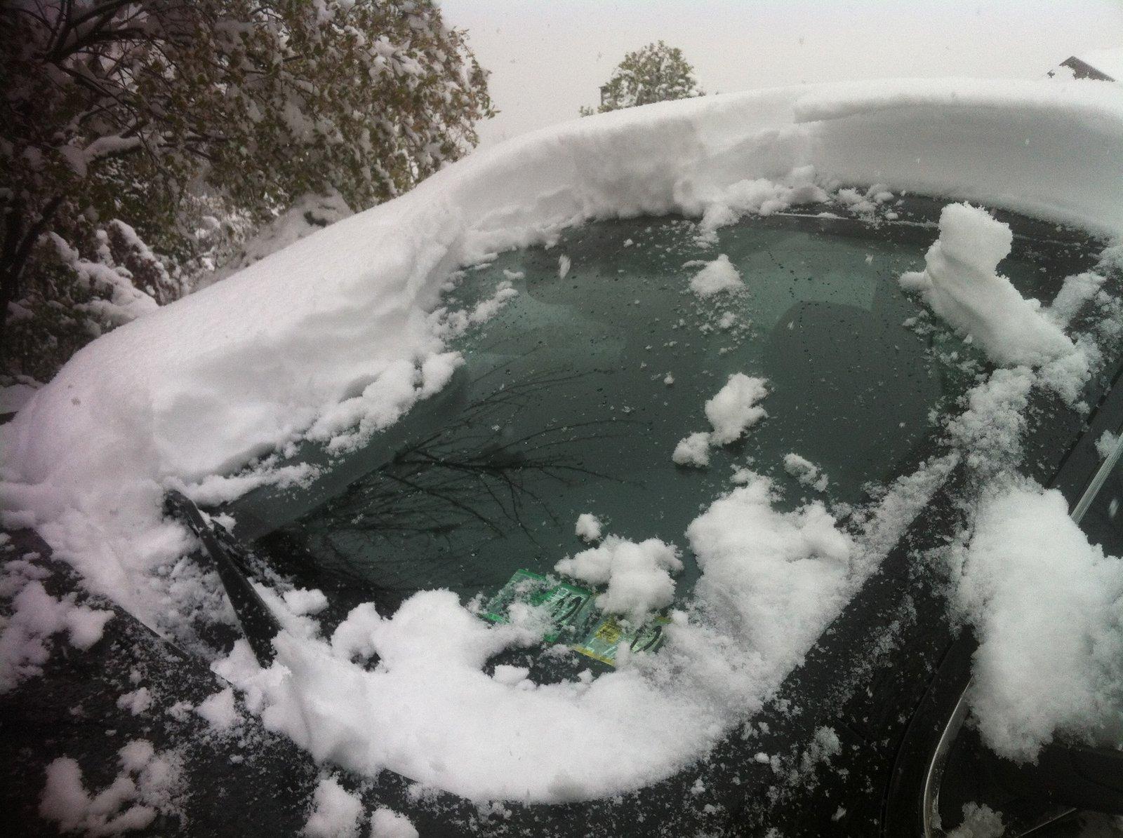 April snow!!!!