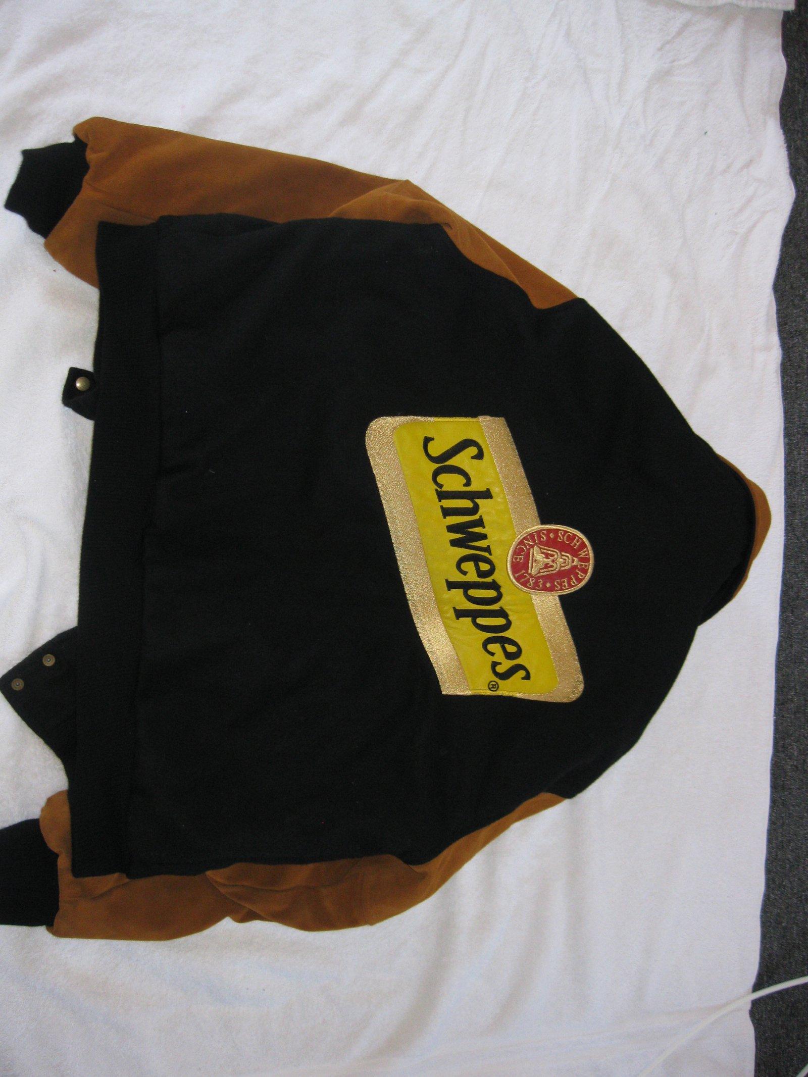 Schweppes jacket sale