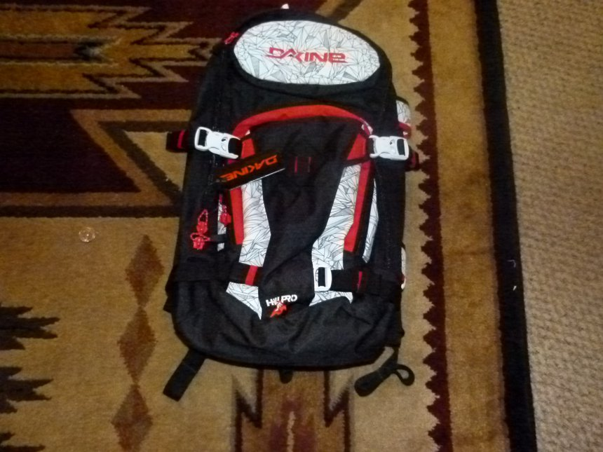 Sean Pettit Dakine Backpack FS