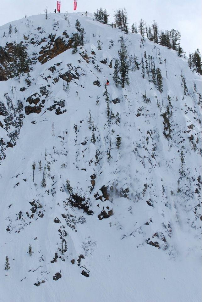 Skiing Broccoli Tree