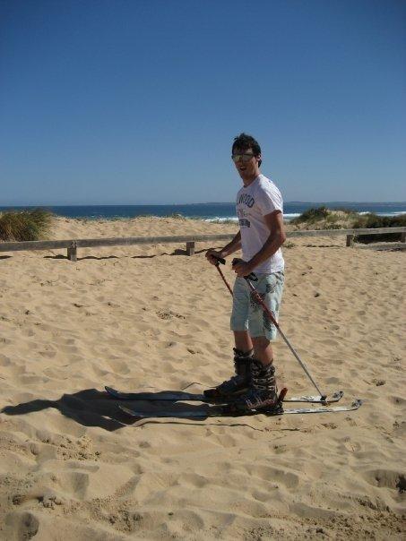 Phillip Island skiing