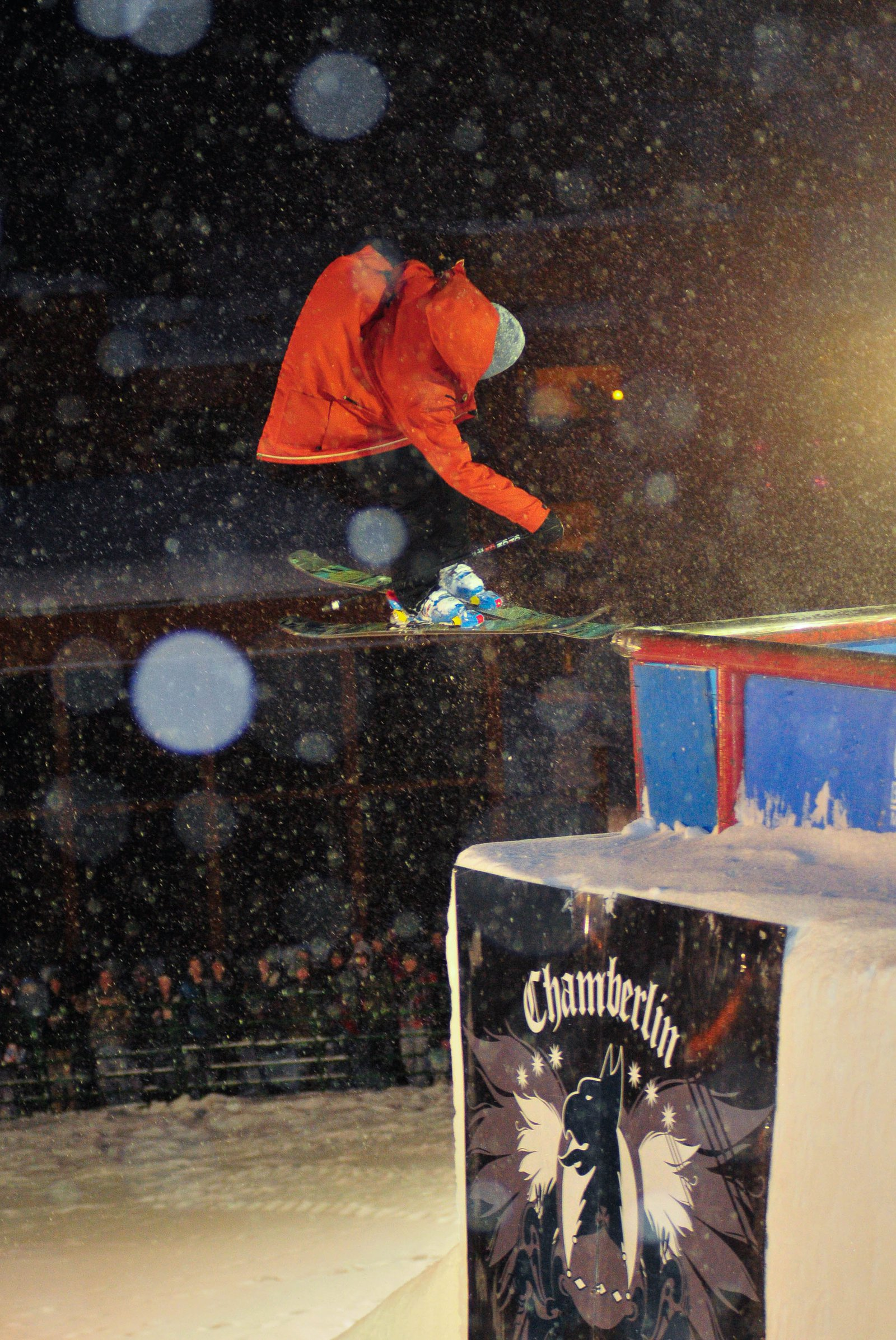 Shay Lee Chamberlain rail jam