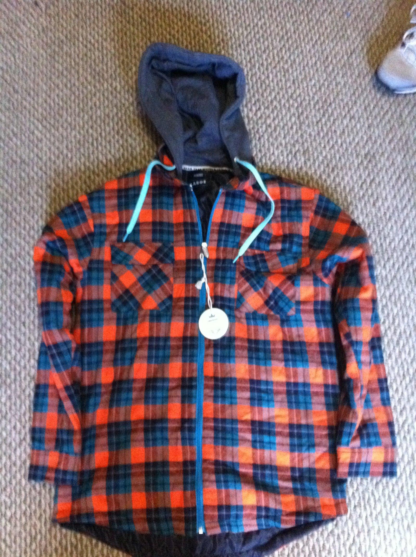 jiberish flannel